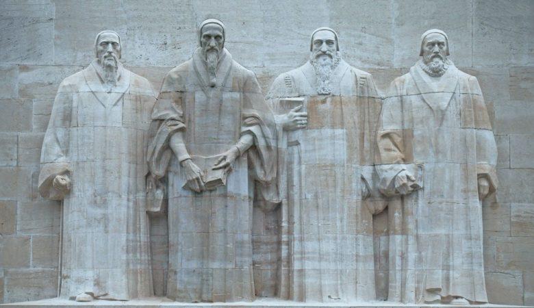 Statue of John Calvin