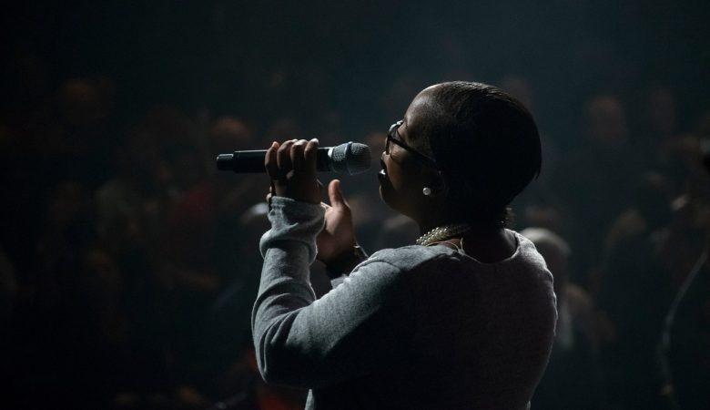 Worship singing